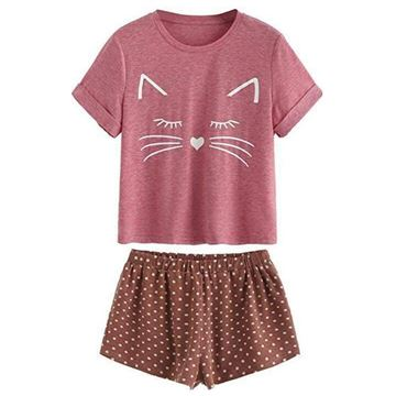 Picture of Woman Cat Pajama