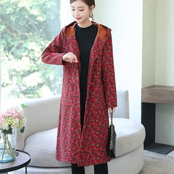 Picture of Woman Long Jacket